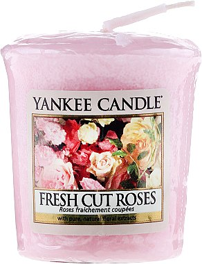 Votivkerze Fresh Cut Roses - Yankee Candle Fresh Cut Roses Sampler Votive — Bild N1