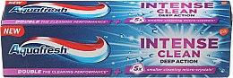 Düfte, Parfümerie und Kosmetik Zahnpasta Intense Clean Deep Action - Aquafresh Intense Clean Deep Action Toothpaste