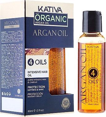 Regenerierendes Haarkonzentrat mit 4 Ölen - Kativa Argan Oil — Bild N1