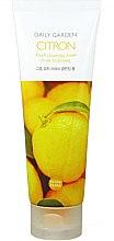 Düfte, Parfümerie und Kosmetik Gesichtsreinigungsschaum - Holika Holika Daily Garden Goheung Citron Fresh Cleansing Foam