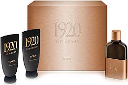 Düfte, Parfümerie und Kosmetik Tous 1920 The Origin - Duftset (Eau de Toilette 100ml + Duschgel 100ml + After Shave Balsam 100ml)