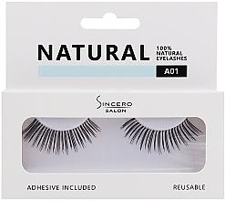 Düfte, Parfümerie und Kosmetik Künstliche Wimpern - Sincero Salon Eyelashes Natural (2 St.)