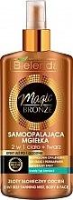 Düfte, Parfümerie und Kosmetik Bronzierender Spray für Gesicht und Körper - Bielenda Magic Bronze
