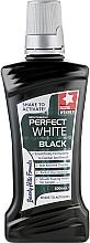 Düfte, Parfümerie und Kosmetik Mundwasser - Beverly Hills Formula Perfect White Black Mouthwash