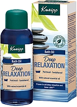 Düfte, Parfümerie und Kosmetik Badeöl Patchouli & Sandelholz - Kneipp Deep Relaxation Patchouli & Sandalwood