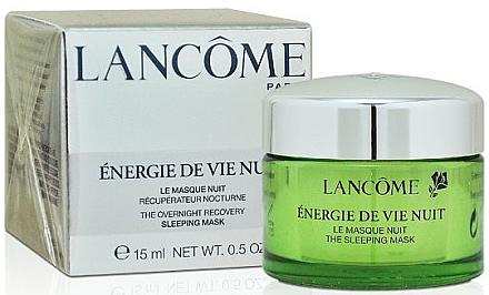 Regenerierende und feuchtigkeitsspendende Gesichtsmaske für die Nacht - Lancome Energie De Vie The Overnight Recovery Sleeping Mask — Bild N1