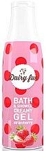 Düfte, Parfümerie und Kosmetik Creme-Duschgel mit Erdbeerextrakt - Delia Dairy Fun Bath Shower Creamy Gel