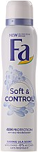 Deospray Antitranspirant - Fa Soft & Control Lila Scent Deodorant — Bild N2