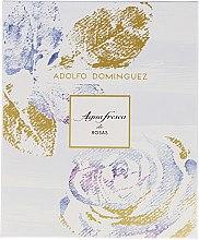 Düfte, Parfümerie und Kosmetik Adolfo Dominguez Agua Fresca de Rosas - Duftset (Eau de Toilette/120ml + Körperlotion/300ml)