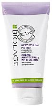 Düfte, Parfümerie und Kosmetik Pflegende Hitzeschutzcreme für das Haar mit Kokosmilch - Biolage R.A.W. Heat Styling Primer