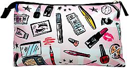 Düfte, Parfümerie und Kosmetik Kosmetiktasche - W7 Print Large Cosmetics Bag