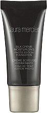 Düfte, Parfümerie und Kosmetik Feuchtigkeitsspendende Grundierung - Laura Mercier Silk Creme Moisturizing Photo Edition Foundation