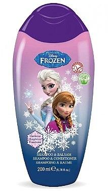 Shampoo und Conditioner mit Himbeere - Disney Frozen Shampoo & Conditioner — Bild N1