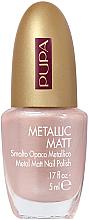 Düfte, Parfümerie und Kosmetik Nagellack - Pupa Metallic Matt