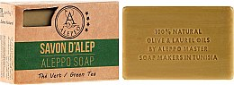Aleppo-Seife mit grünem Tee - Alepeo Aleppo Soap Green Tea 8% — Bild N1