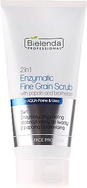 Feinkornpeeling mit Enzymen - Bielenda Professional Face Program 2in1 Enzyme Peel And Fine Grain Scrub — Bild N1