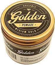 Pomade zum Haarstyling Mittlerer Halt - Golden Beards Golden Pomade — Bild N2