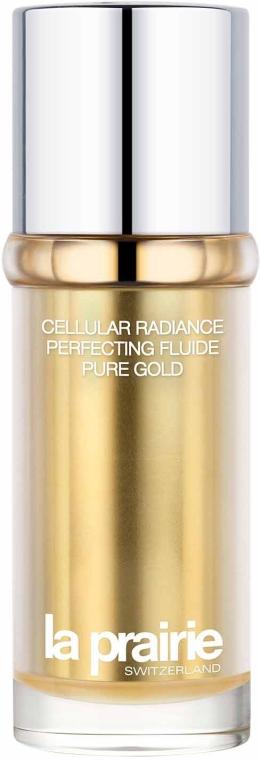 Perfektionierende Hautpflege mit Goldpartikeln - La Prairie Cellular Radiance Perfecting Fluide Pure Gold — Bild N1