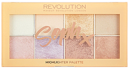 Düfte, Parfümerie und Kosmetik Highlighter-Palette - Makeup Revolution Soph Highlighter Palette