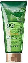 Düfte, Parfümerie und Kosmetik Beruhigendes Körpergel mit Aloe Vera - The Saem Jeju Fresh Aloe Soothing Gel 99%