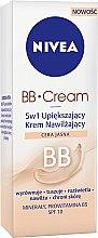 Düfte, Parfümerie und Kosmetik 5in1 Feuchtigkeitsspendende BB Creme hellbeige SPF 10 - Nivea Visage BB Cream SPF 10