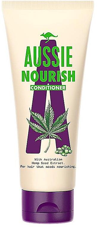 Nährender Conditioner mit australischem Hanfsamenextrakt - Aussie Hemp Nourish Conditioner — Bild N1