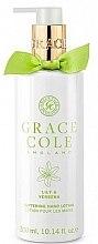 Düfte, Parfümerie und Kosmetik Aufweichende Handlotion mit Lilie und Eisenkraut - Grace Cole Lily & Verbena Hand Lotion