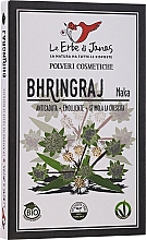 Düfte, Parfümerie und Kosmetik Ayurvedisches Pflanzenpulver für Kopfhaut und Haare - Le Erbe di Janas Bhringraj