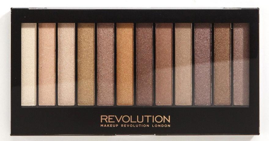 Lidschattenpalette - Makeup Revolution Redemption Palette Essential Shimmers  — Bild N1