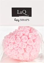 Handgemachte Naturseife Herz mit Kirschduft - LaQ Happy Soaps Natural Soap — Bild N1