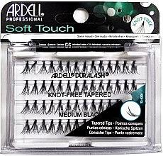 Düfte, Parfümerie und Kosmetik Wimpernbüschel-Set - Ardell Soft Touch Duralash Medium Black Tapered Tips