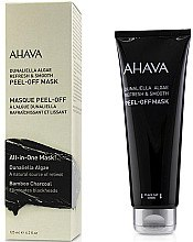 Düfte, Parfümerie und Kosmetik Glättende Peel-Off Gesichtsmaske mit Bambuskohle und Dunaliella - Ahava Dunaliella Algae Peel-off Mask