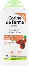 Düfte, Parfümerie und Kosmetik Schützende Duschcreme mit Sheabutter - Corine De Farme Shower Cream