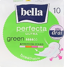 Düfte, Parfümerie und Kosmetik Damenbinden Perfecta Green Drai Ultra 10 St. - Bella