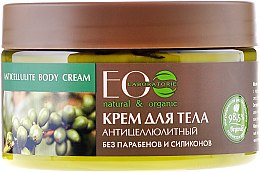 Düfte, Parfümerie und Kosmetik Anti-Cellulite Körpercreme mit grünem Kaffee, Guaraná und Orangenöl - ECO Laboratorie Anticellulite Body Cream