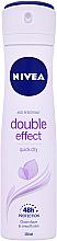 Deospray Antitranspirant - Nivea Double Effect Deodorant Spray — Bild N2