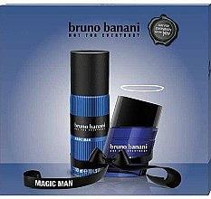 Düfte, Parfümerie und Kosmetik Bruno Banani Magic Man - Duftset (Eau de Toilette 30ml + Deodorant 150ml)