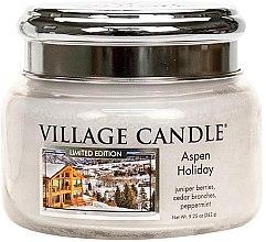 Duftkerze Aspen Holiday - Village Candle Aspen Holiday Glass Jar — Bild N2