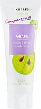 Düfte, Parfümerie und Kosmetik Tief reinigendes Gesichtspeeling mit Traubenöl und Aloe Vera - Korres Grape Scrub
