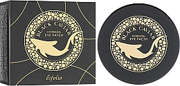 Düfte, Parfümerie und Kosmetik Hydrogel-Augenpatches mit schwarzem Kaviar - Esfolio Black Caviar Hydrogel Eye Patch