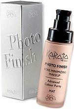 Düfte, Parfümerie und Kosmetik Foundation zur Porenminimierung - Karaja Photo Finish Pore Minimizing Make-Up Foundation