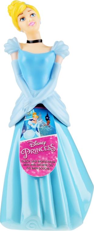 Schäumendes Duschgel für Kinder Prinzessin Cinderella - Disney Princess Cinderella 3D — Bild N1
