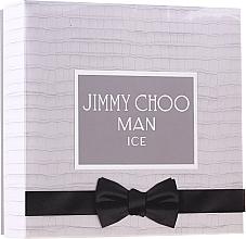 Düfte, Parfümerie und Kosmetik Jimmy Choo Man Ice - Duftset (Eau de Toilette 100ml + After Shave Balsam 100ml + Mini 7,5ml)