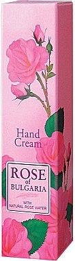Handcreme mit natürlichem Rosenwasser - BioFresh Rose of Bulgaria Rose Hand Cream — Bild N1