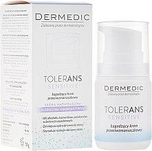 Düfte, Parfümerie und Kosmetik Beruhigende Anti-Aging Gesichtscreme für empfindliche und gereizte Haut - Dermedic Tolerans Calming Anti-Wrinkle Cream