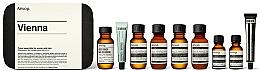 Düfte, Parfümerie und Kosmetik Körperpflegeset - Aesop Vienna Travel Kit (Shampoo 50ml + Conditioner 50ml + Duschgel 50ml + Körperbalsam 50ml + Mundwasser 50ml + Zahnpasta 10ml + Antioxidativer Gesichtswasser 15ml + Antioxidansserum 15ml)
