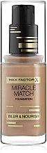 Düfte, Parfümerie und Kosmetik Foundation - Max Factor Miracle Match Foundation Blur & Nourish