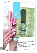 Düfte, Parfümerie und Kosmetik Calcium-Nagelschutzgel - Czyste Piekno Regenerator Of Damaged Nails