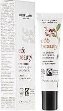 Düfte, Parfümerie und Kosmetik Feuchtigkeitsspendende Augenpflege Anti-Tränensäcke, Anti-Müdigkeit - Oriflame Ecobeauty Eye Cream