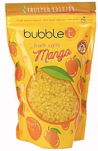 Düfte, Parfümerie und Kosmetik Badesalz mit Mango - Bubble T Cosmetics Bath Salt Mango